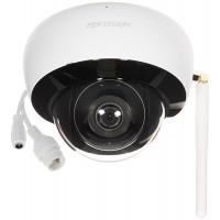 4 Мегапиксела Безжична WiFi мрежова IP камера вграден микрофон HIKVISION DS-2CD2141G1-IDW1(D)