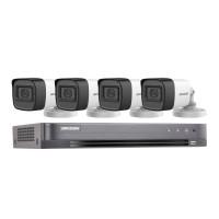 Пълен комплект видеонаблюдение 4 камери с микрофон от DariAuto.com
